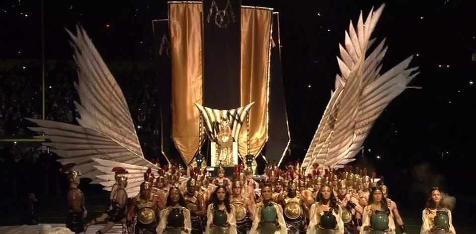 Super Bowl Occult Ritual Concerts