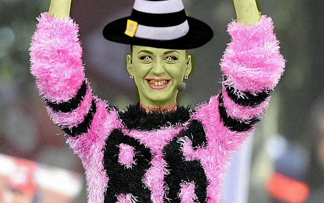 Witch Katy Perry for Super Bowl XLIX Show