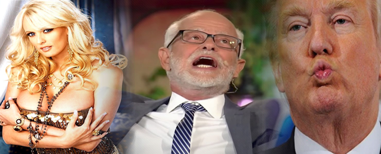 Jim Bakker Claims President Trump Visited Porn Star's Hotel Room To Spread The Gospel!