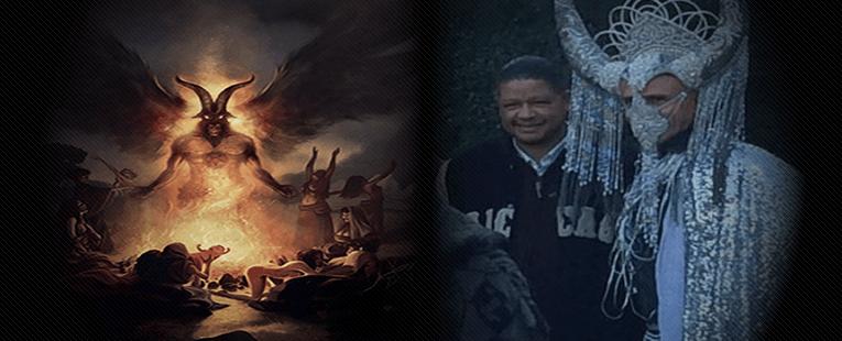 Did Obama Dress Up As Lucifer?