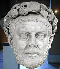 Roman Emperor Diocletian tried to wipe out early church