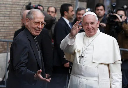 Black Pope, Jesuit General, false prophet; exercises his authority in front of the white pope