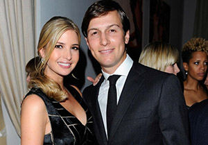 Jared is married to President Donald Trump's daughter Ivanka. I believe that the enemy connects powerful families through marriage, to better carry out their agenda