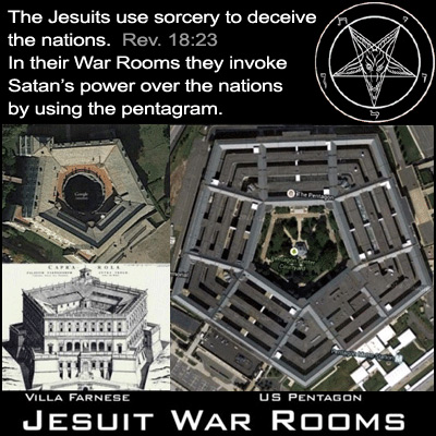 Jesuit war rooms, pentagon