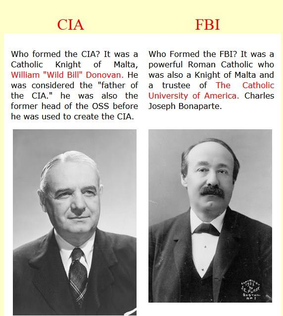 The CIA was created by the Jesuits