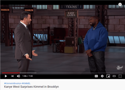 Late night show host Jimmy Fallen is not Christian, and come across as anti-christian; so why would he feature Kanye talking about Jesus, God and reading the Bible? Because they're all actors, playing their role.