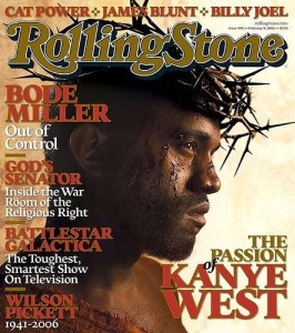 Kanye West Rolling Stone Passion of the Christ