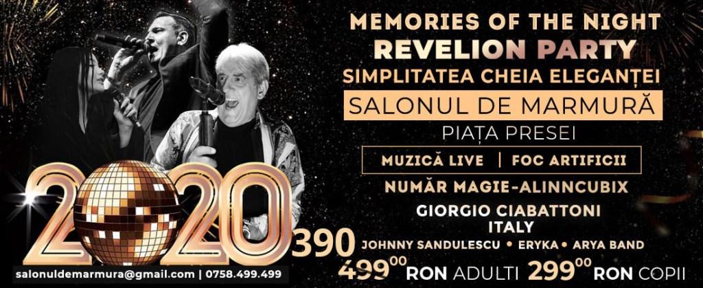 Revelion 2020 de Neuitat la Salonul De Marmura! - oferte Last Minute