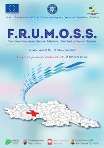 Absolventi certificati in cadrul proiectului FRUMOSS coordonat de Radu Onisoru