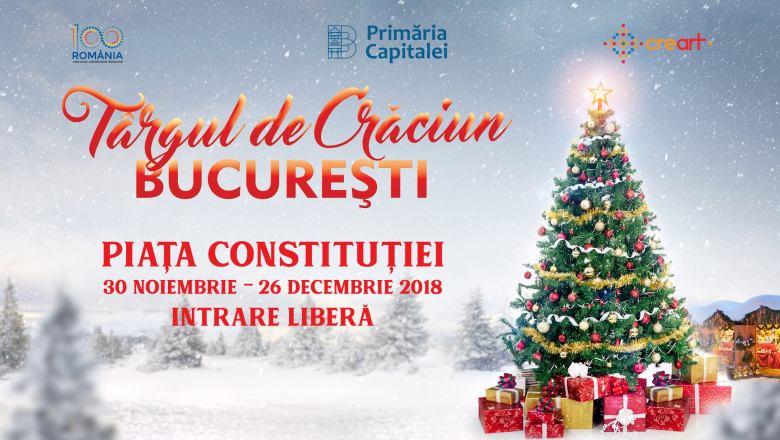 Cand se aprind luminile de sarbatori in Bucuresti, in 2018?