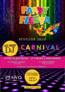 Revelion 2020 la Piano Ballroom Bucuresti