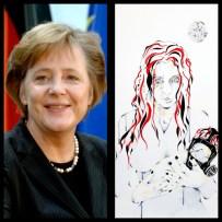 Mme Angela MERKEL - Chancelier fédéral Allemagne