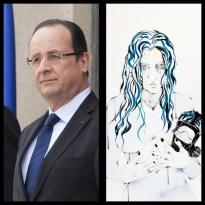 Mr François HOLLANDE - Président de la république Française