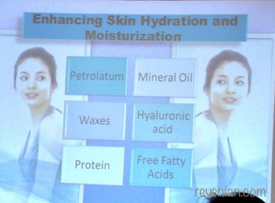 Skin Hydration and Mosturizing