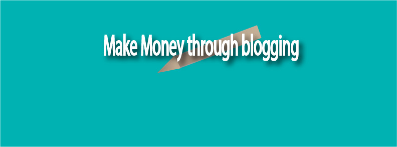 Generate revenue by blogging