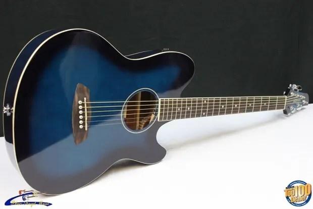 Ibanez Talman Tcy10 Acoustic Electric Guitar Transparent