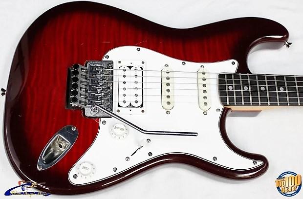 Sunburst Mexican Deluxe Fender Telecaster