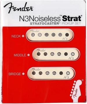 NEW! Fender N3 Noiseless™ Single Coil Strat Pickups | Reverb