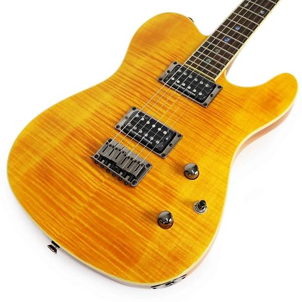 Black Edition Guitar Fmt Special Cherry Fender Electric Custom Telecaster Burst Hh