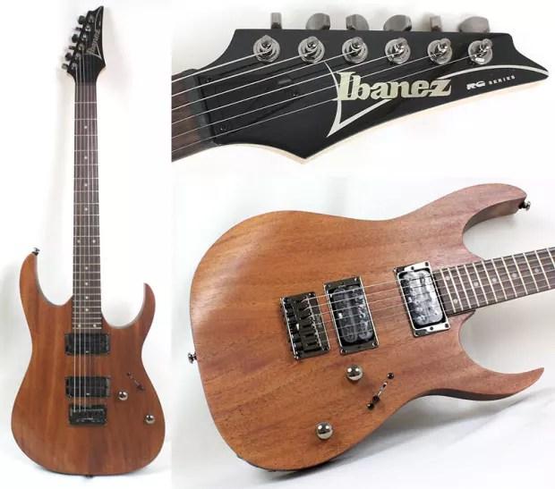 Ibanez Rg Series Rg421 Mol 6 String Electric Guitar
