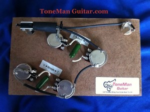 Ibanez Artcore Style 50's Deluxe Wiring Harness  022uf