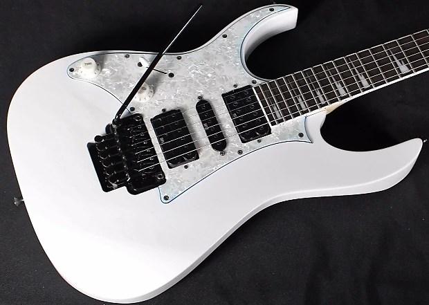 Ibanez Rg450 Rg 450 Dx Bl Lefty Electric Guitar White