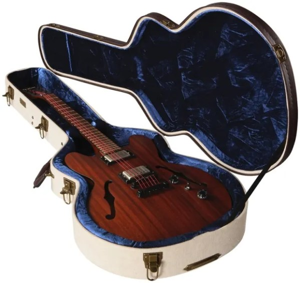Gator Journeyman Deluxe Wood Case - Semi-hollowbody Guitar ...