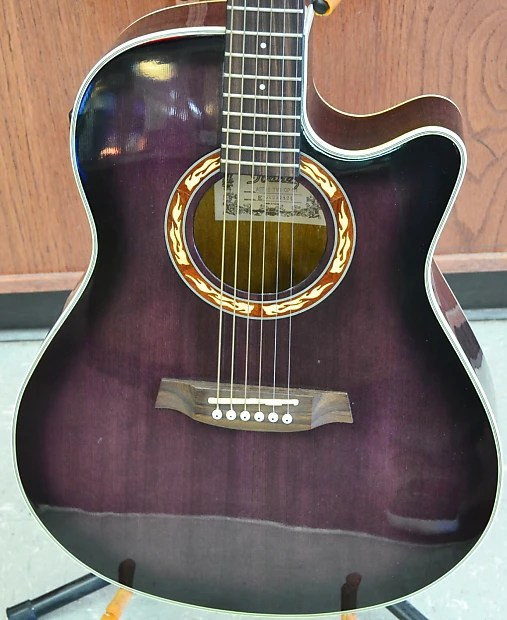 Ibanez Aef18 6 String Acoustic Electric Guitar With