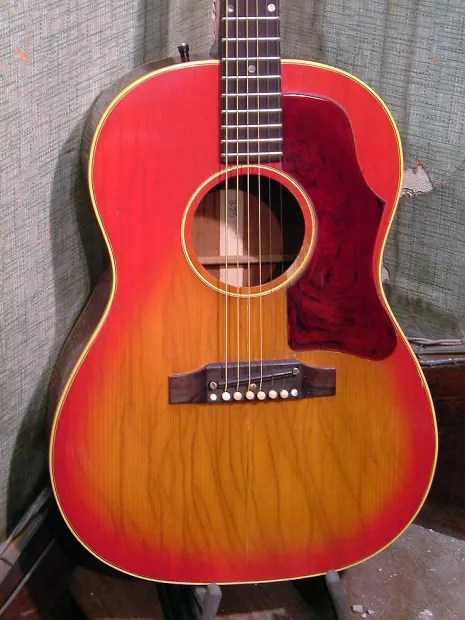 1967 Gibson Acoustic Guitar Models