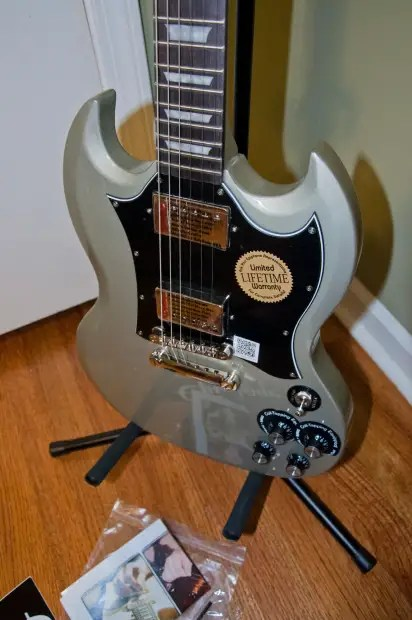 Silver Edition Pro G Epiphone 400 Tv 1966 Guitar Electric Limited