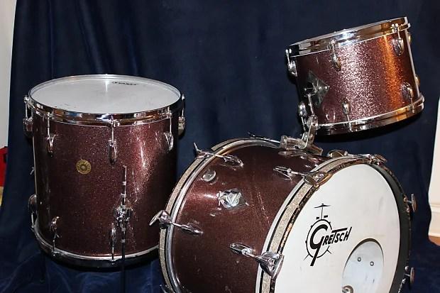 Burgundy Sparkle Drum Wrap