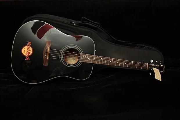 Cd Fender 60 Guitar Acoustic Black