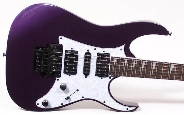 Ibanez Rg450dx Electric Guitar Metallic Purple W Case