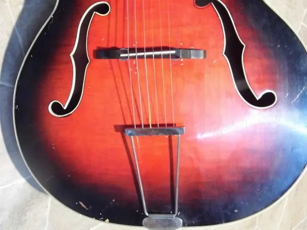 Kay Archtop Guitar F Holes