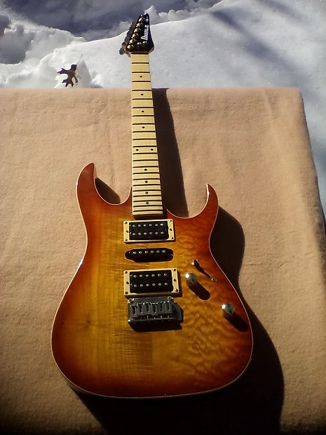 Highly Rated Ibanez Ex 3 Pc Maple Body Hsh 22