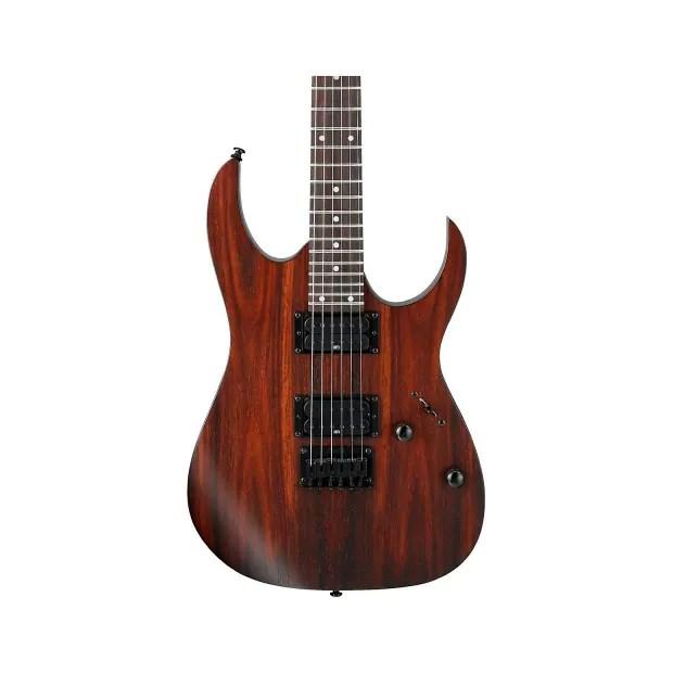 Ibanez Rg421 Series 6 String Electric Guitar Charcoal