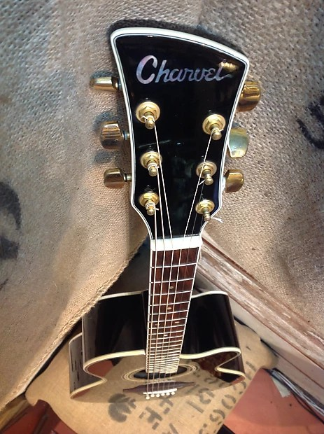Charvel 625c Acoustic Electric Guitar