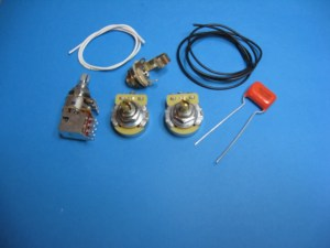 AM Guitar Works Jazz J Bass Wiring Kit with Series Parallel | Reverb