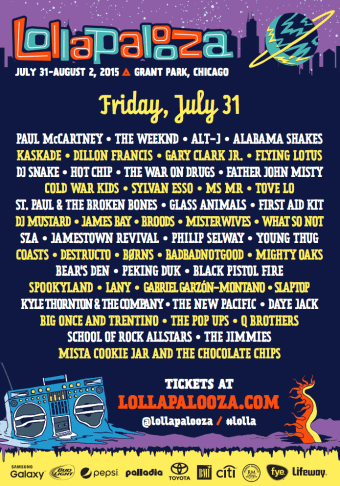 Lollapalooza Friday