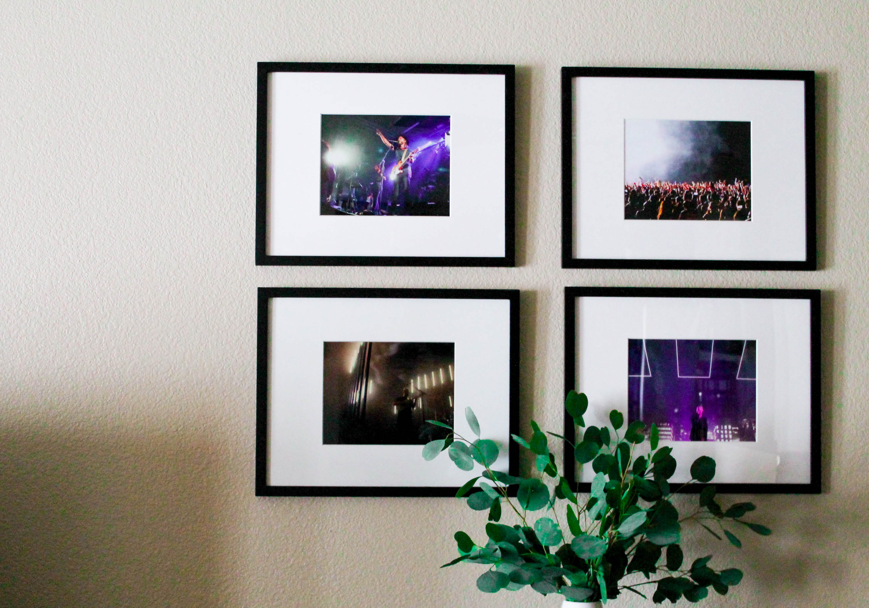How To Frame Gig Posters Guide