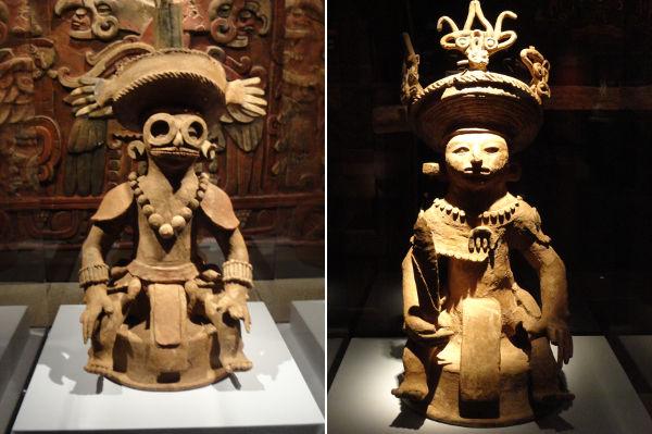 Maya figurines, 1