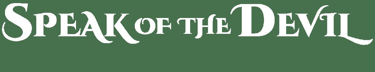 Speak of the Devil Logo