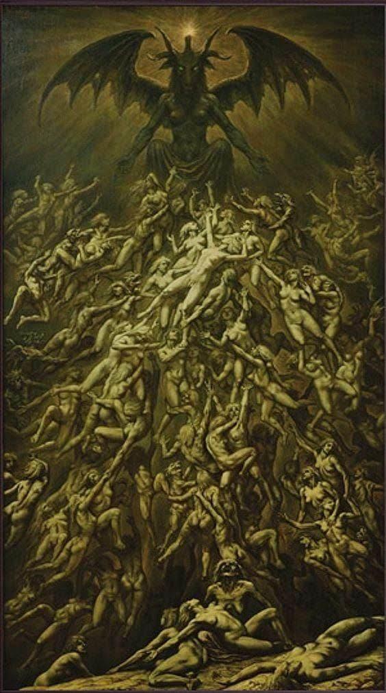 """""""El Sacrificio de Cannunas"""" by Johfra Bosschart, 1979"""