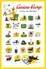 Curious George Learns The Alphabet @the blog of Lost and Found Books