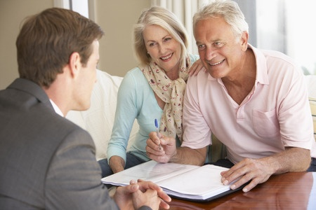 We meet face to face with our reverse mortgage for purchase clients