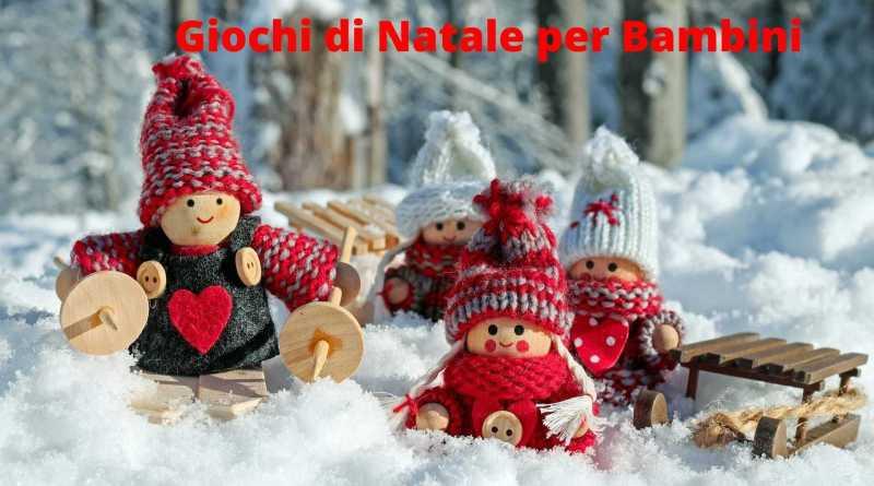 Giochi di Natale per Bambini