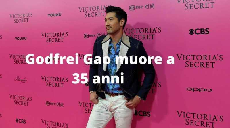 Godfrei Gao muore a 35 anni