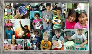 Children enjoying Reverse Garbage's education workshop