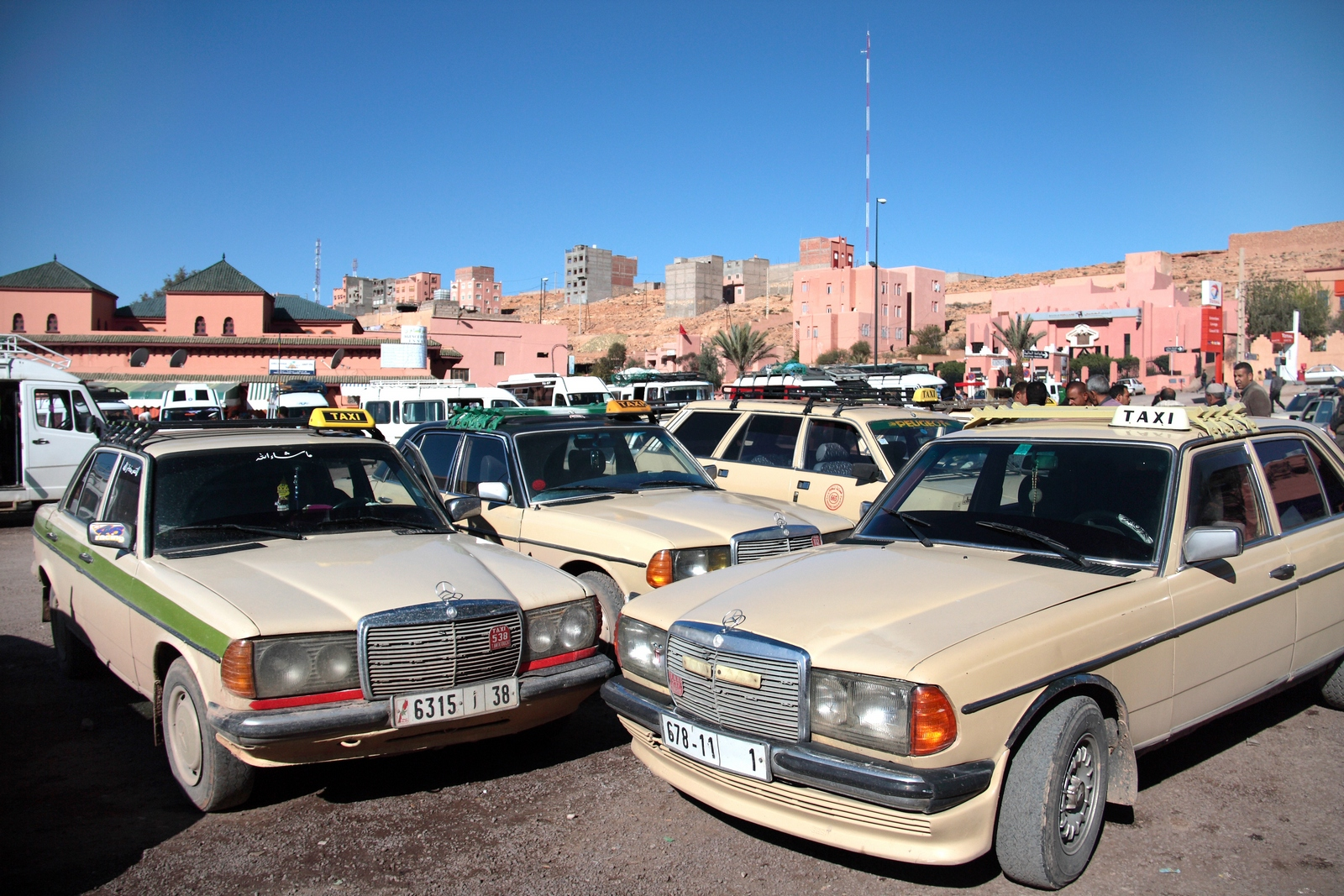 Image result for grand taxi morocco