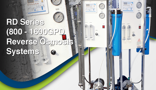 Puritech RD 800-1600 Reverse Osmosis Systems
